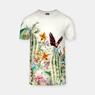 Thumbnail image of Blooming in the cactus Camiseta, Live Heroes
