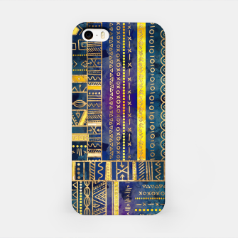 Thumbnail image of Tribal Ethnic pattern gold colorful painted texture iPhone Case, Live Heroes