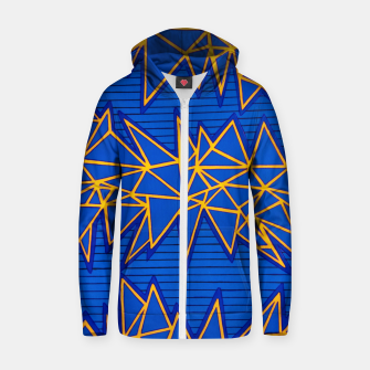 Thumbnail image of TR Untitled 1 Cotton zip up hoodie, Live Heroes