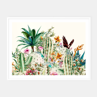 Thumbnail image of Blooming in the cactus Cartel con marco, Live Heroes