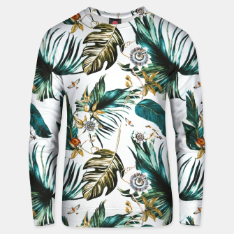 Thumbnail image of Exotic watercolor nature Sudadera de algodón, Live Heroes