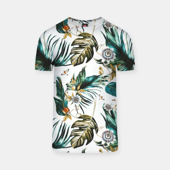 Thumbnail image of Exotic watercolor nature Camiseta, Live Heroes
