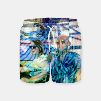 Thumbnail image of D Swim Shorts, Live Heroes