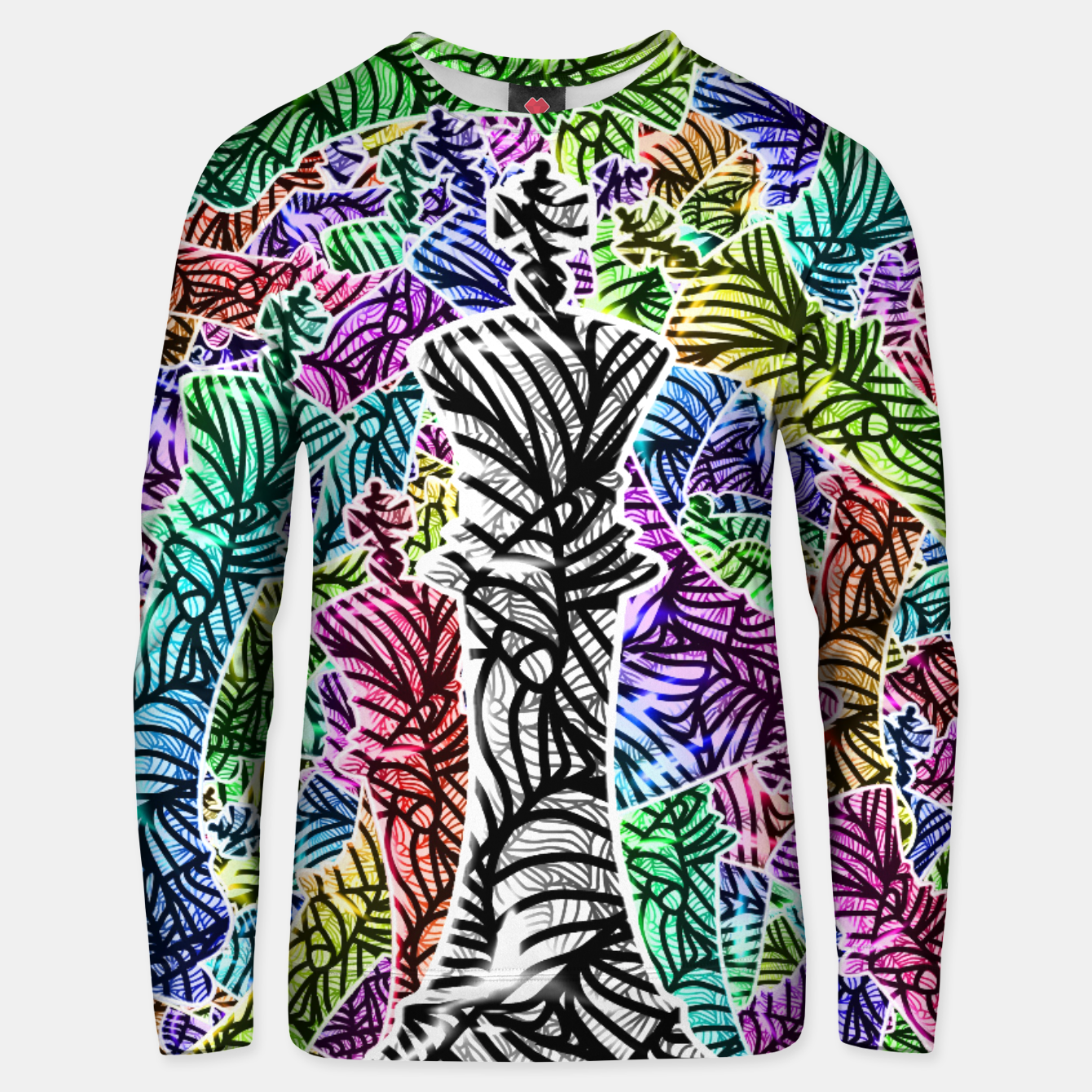 Image of Chess Cotton sweater - Live Heroes