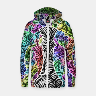 Thumbnail image of Chess Cotton zip up hoodie, Live Heroes