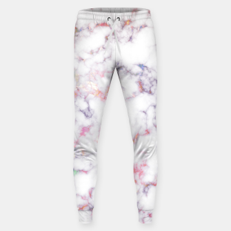 Thumbnail image of Colorful Marble Cotton sweatpants, Live Heroes
