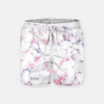 Thumbnail image of Colorful Marble Swim Shorts, Live Heroes