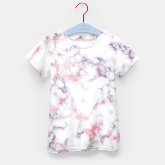Thumbnail image of Colorful Marble Kid's t-shirt, Live Heroes