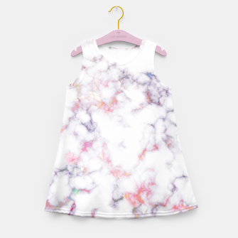 Thumbnail image of Colorful Marble Girl's summer dress, Live Heroes