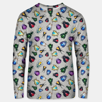 Thumbnail image of Colorful Mineral Beetles Cotton sweater, Live Heroes