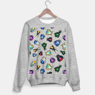Thumbnail image of Colorful Mineral Beetles Sweater regular, Live Heroes