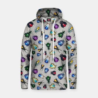 Thumbnail image of Colorful Mineral Beetles Cotton hoodie, Live Heroes
