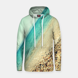 Thumbnail image of Mediterranean lines Cotton hoodie, Live Heroes