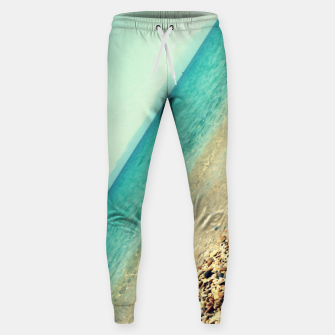 Thumbnail image of Mediterranean lines Cotton sweatpants, Live Heroes