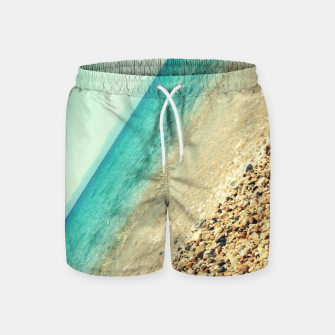 Thumbnail image of Mediterranean lines Swim Shorts, Live Heroes