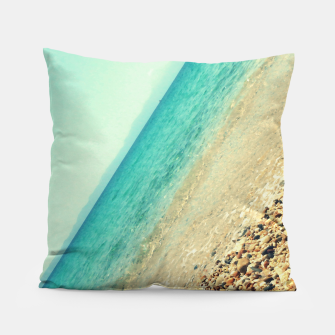 Thumbnail image of Mediterranean lines Pillow, Live Heroes