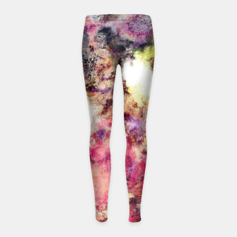 Raspberry rocks Girl's leggings thumbnail image