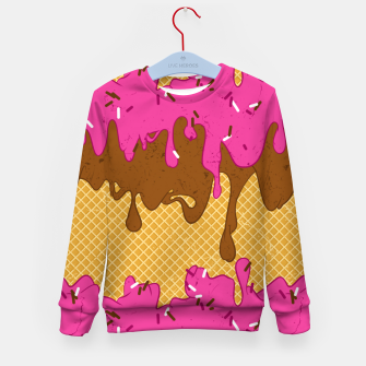 Thumbnail image of Sweet stream Kid's sweater, Live Heroes