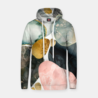 Thumbnail image of Pebble Abstract Cotton hoodie, Live Heroes