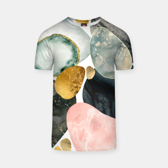 Thumbnail image of Pebble Abstract T-shirt, Live Heroes