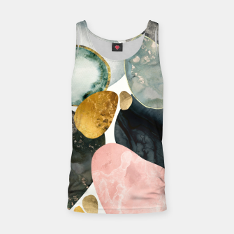 Thumbnail image of Pebble Abstract Tank Top, Live Heroes