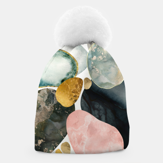 Thumbnail image of Pebble Abstract Beanie, Live Heroes