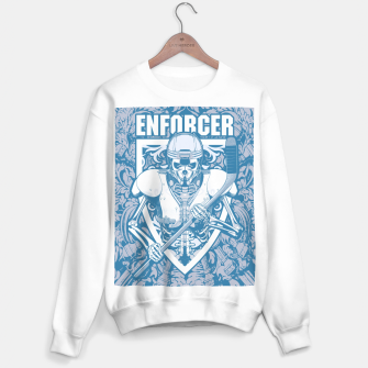 Enforcer Ice Hockey Player Skeleton Sweater regular thumbnail image