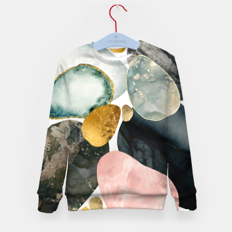 Thumbnail image of Pebble Abstract Kid's sweater, Live Heroes