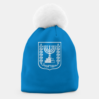 Thumbnail image of Classic Blue and White Emblem of Israel  Beanie, Live Heroes