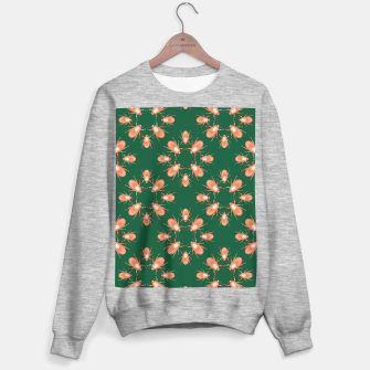 Thumbnail image of Copper Beetles on Green Background Sweater regular, Live Heroes