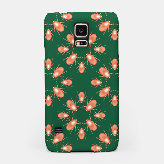 Thumbnail image of Copper Beetles on Green Background Samsung Case, Live Heroes