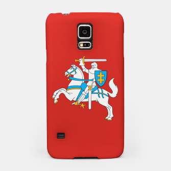 Thumbnail image of State flag of Lithuania Knight On Red Samsung Case, Live Heroes
