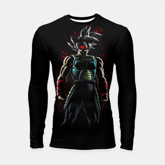 Thumbnail image of The best father Longsleeve rashguard, Live Heroes