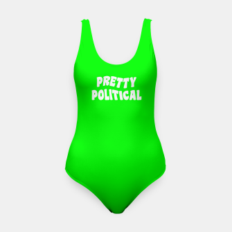 Thumbnail image of Pretty Political Swimsuit, Live Heroes