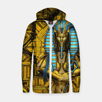 Thumbnail image of Sacred Queen Cotton zip up hoodie, Live Heroes