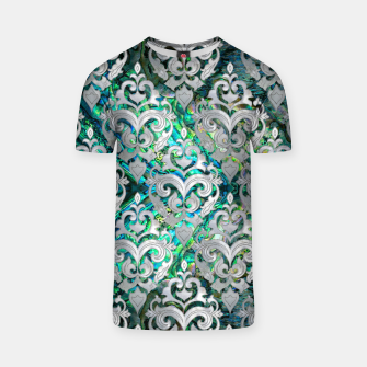 Thumbnail image of Persian Oriental  pattern abalone and pearl T-shirt, Live Heroes