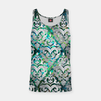 Thumbnail image of Persian Oriental  pattern abalone and pearl Tank Top, Live Heroes