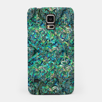 Thumbnail image of Persian Oriental pattern abalone and silver Samsung Case, Live Heroes