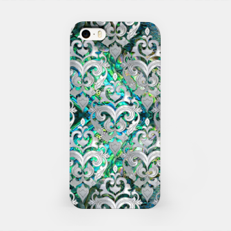 Thumbnail image of Persian Oriental  pattern abalone and pearl iPhone Case, Live Heroes