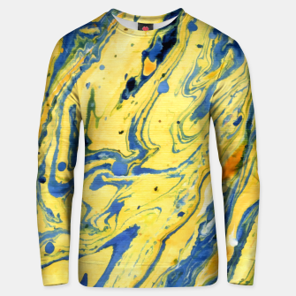 Thumbnail image of Colors on the Lake Marbling |  Cotton sweater, Live Heroes
