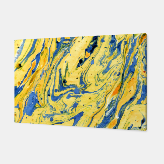 Thumbnail image of Colors on the Lake Marbling |  Canvas, Live Heroes