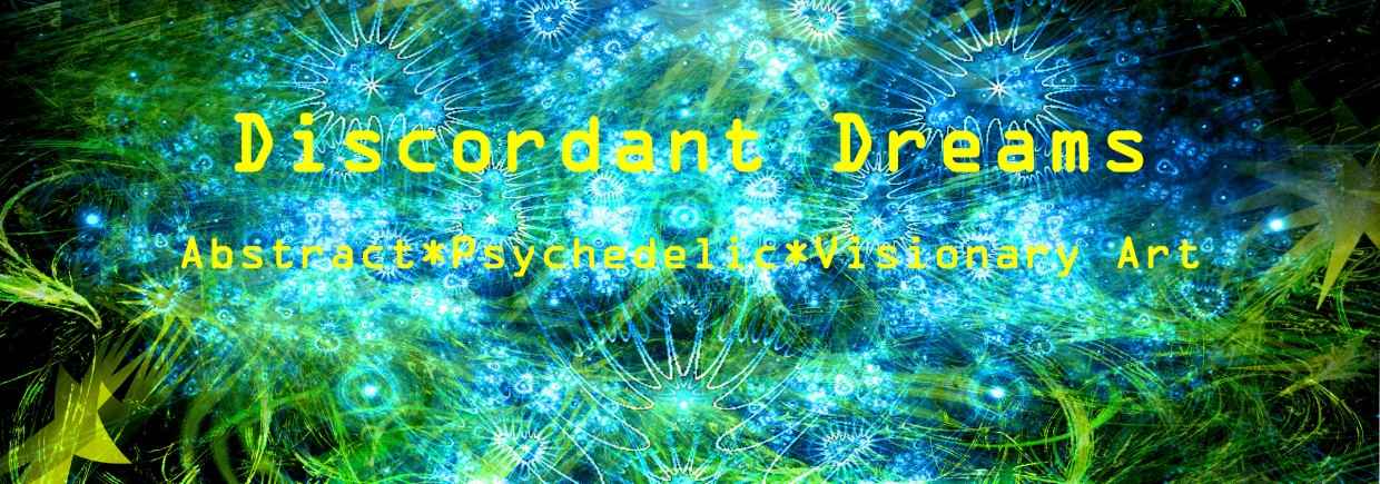Discordant Dreams Psychedelic Clothing background image, Live Heroes