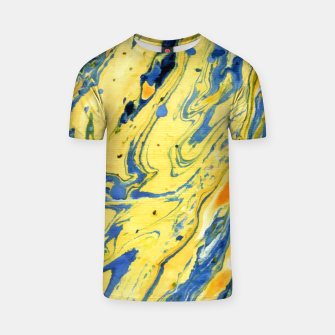 Thumbnail image of Colors on the Lake Marbling |  T-shirt, Live Heroes