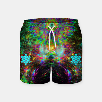 Meditating Yoda Swim Shorts thumbnail image