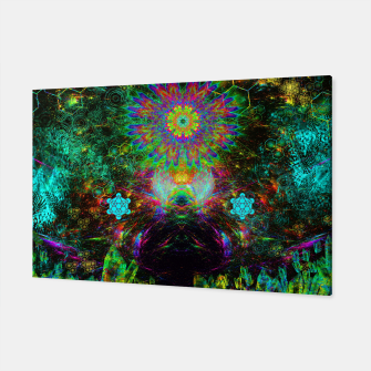 Meditating Yoda Canvas thumbnail image