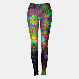 Meditating Yoda Leggings thumbnail image