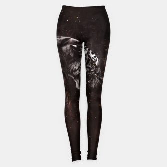 Thumbnail image of Angry Tiger Leggings, Live Heroes