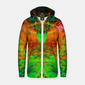 Miniature de image de Cooling A Mental Wildfire Cotton zip up hoodie, Live Heroes