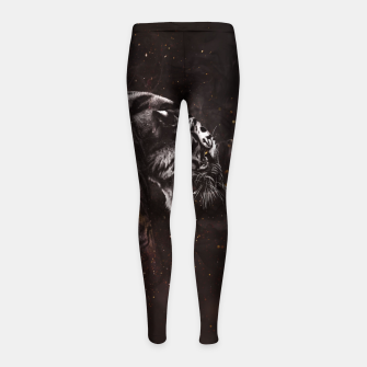 Thumbnail image of Angry Tiger Kinder-Leggins, Live Heroes