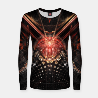 Thumbnail image of Perception Abstract |  Woman cotton sweater, Live Heroes